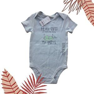 Peas Out Uncle Collectible Bodysuit